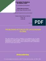 Problemas Actuales de La Economía Global