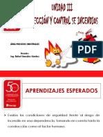 Unidad III Planes de Emergencia y Control de Incendios