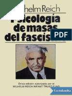 Psicologia de Masas Del Fascismo - Wilhelm Reich