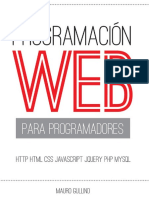 Programacion Web Para Programadores Gullino