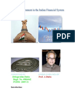 Role of Government in Indian Financial System