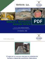 Manejo y Reutilizacion de Agua en Tintaya(24pag)