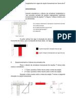 Cálculo Da Armadura Longitudinal Em Vigas de Seção Transversal Em Forma de T