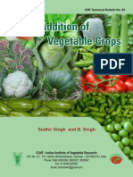 Value Addition of Vegetable Crops