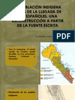 La Población Indígena a La Llegada de Los Españoles (1)