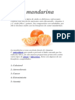 La Mandarina y La Manzana