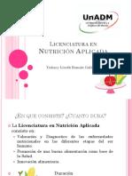 Licenciatura en Nutricion