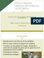 Basura Urbana Transformada en Energía Eléctrica
