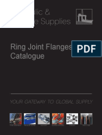 Ring Joint Flanges Product Range Catalogue