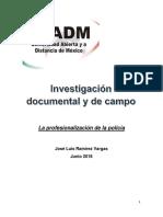 Integración y Redacción de Informe Final