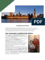 El Sistema Politico Ingles