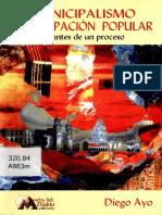 Municipalismo(Bolivia) Apuntes