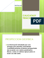 Calicatas y Trincheras