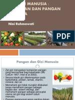 EKOLOGI MANUSIA - PERTANIAN DAN PANGAN MANUSIA. Nini Rahmawati.pdf