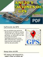 Manejo y Aplicaciones de Gps