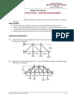 TRABAJO de CASA Nº7_Análisis Estructural - Método de Secciones