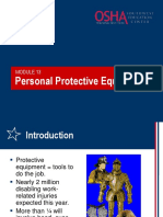 13 Personal Protective Equipment