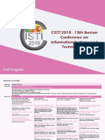 CISTI'2018 Programa