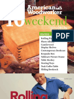 American Woodworker - 10 Weekend Projects