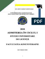 Brosura Admitere Licenta 2018 UNEFS