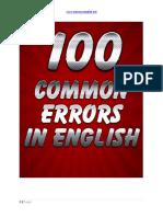 371308165 100 Common Errors in English PDF