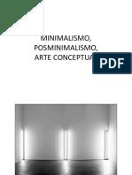 Minimalismo, Arte Conceptual