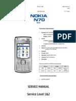 Nokia N70 Service Manual