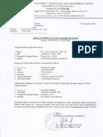 Surat Pernyataan Aktif Kuliah