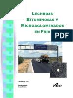 4. Lechadas Bituminosas y Microaglomerados en Frio