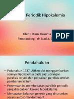 Paralisis Periodik Hipokalemia