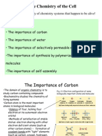 The Chemistry of the Cell The Importance of Carbon Water and Membranes Best Ch022005f 090428000448 Phpapp02