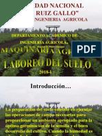2.- Laboreo Del Suelo