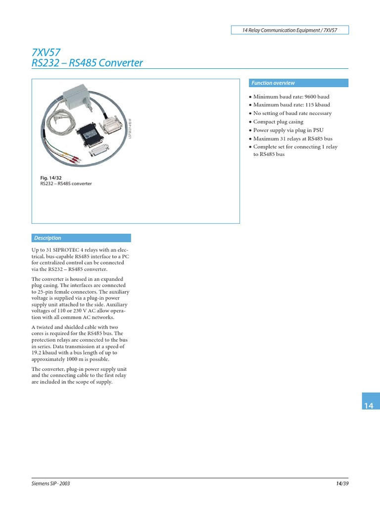 7XV57_Catalogue_2003_en_S pdf | Power Supply | Electrical