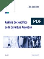 Encuesta Ipsos Mora y Araujo Marzo 2010