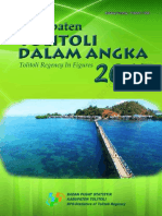 Kabupaten Toli-Toli Dalam Angka 2017