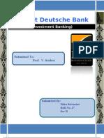 Deutsche Bank Nitin Srivastav