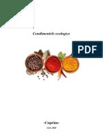 Condimentele ecologice