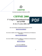 Ressources Humaines CIFPME2000