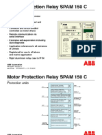 Motor Protection Relay SPAM 150 C