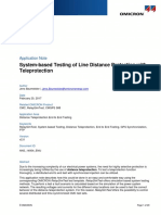 03_RelaySimTest AppNote Line Distance Protection With Teleprotection 2017 ENU