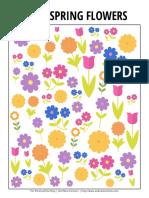 i Spy Spring Flowers