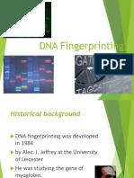 DNA Fingerprinting Blok 9 2017