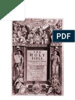 1611 King James Version-Scan