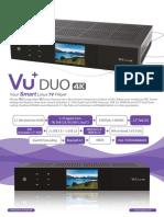 Vu+ DUO4K