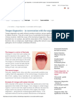 Tongue Diagnostics - In Conversation With the Organs - Normamed Deutschland AG