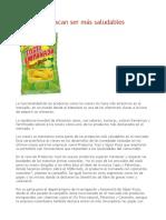 Los snacks buscan ser más saludables - copia.docx