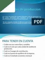 Costes de Produccion