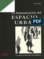 131. La humanización del Espacio Urbano