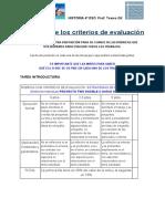 Rúbricas de Los Criterios de Evaluación TWO DOUBLE U 4t ESO