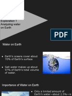 students module e  unit 1 lesson 3 exploration 1 analyzing water on earth